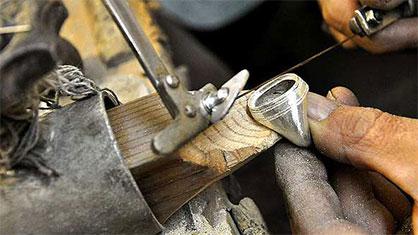 ساخت انگشتر نقره