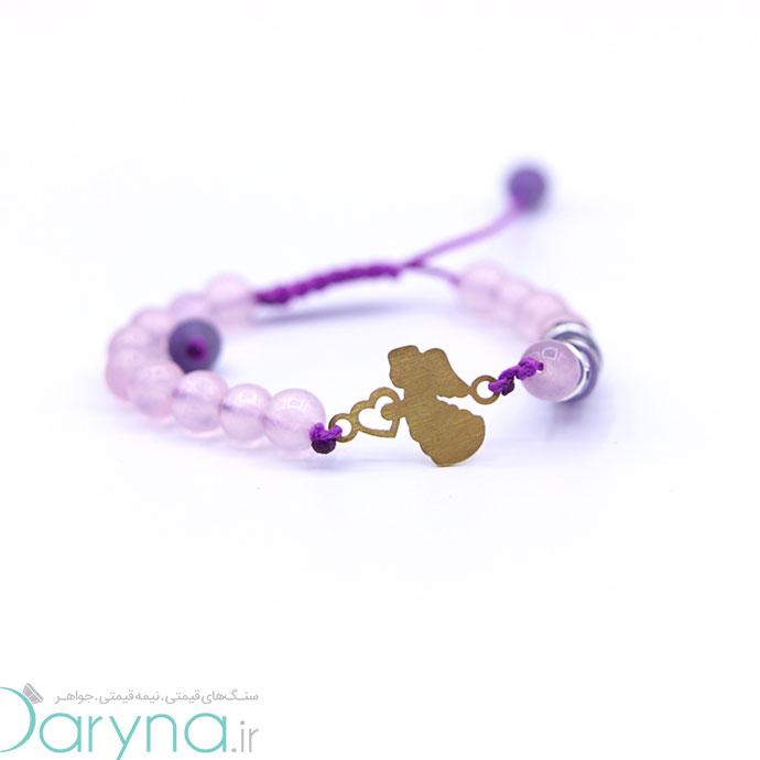 دستبند طلا طرح فرشته کد 061.1.1.1.21