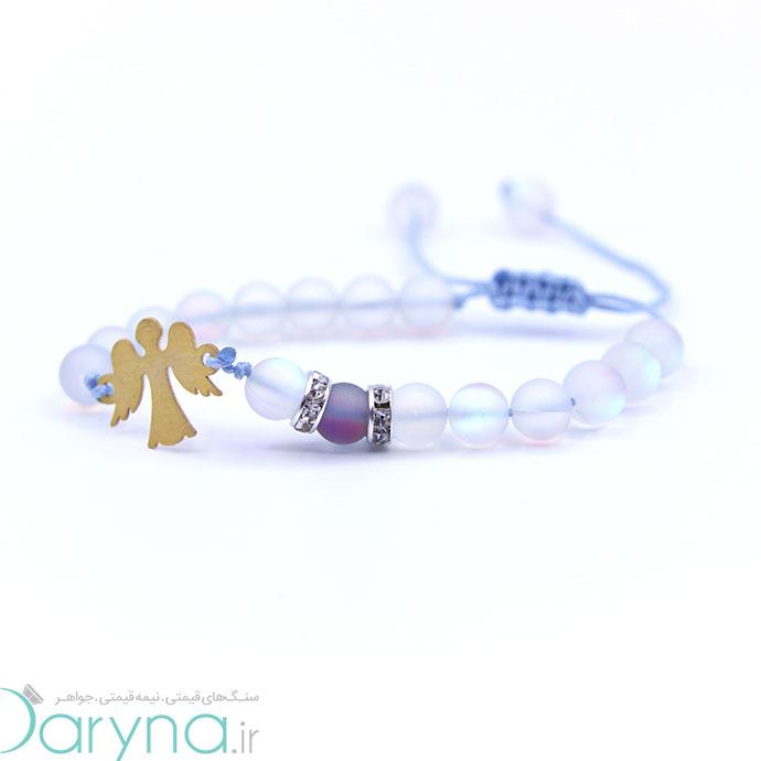 دستبند طلا طرح فرشته کد 061.1.1.1.50