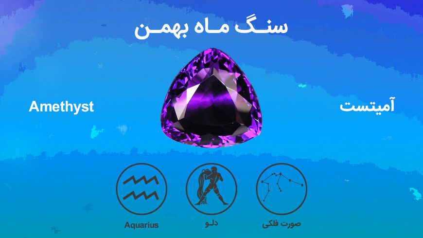 آمیتیست،سنگ متولدین بهمن